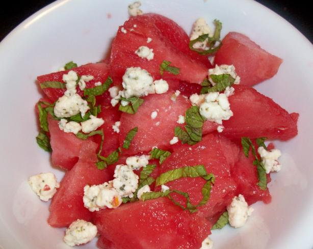 Feta-Licious Watermelon Salad