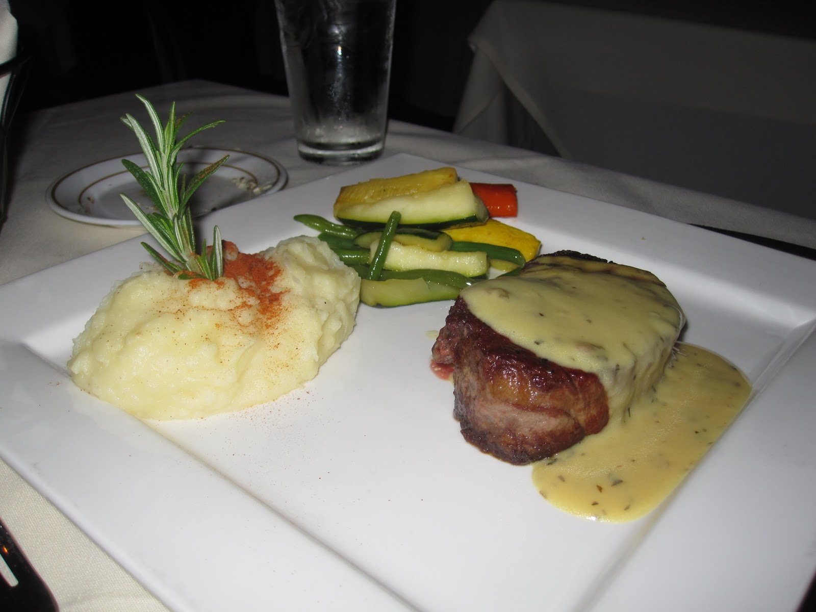filet mignon with tarragon