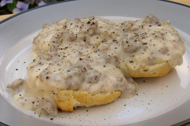 Flavorful Sausage Gravy and Biscuits for a Cold Morning