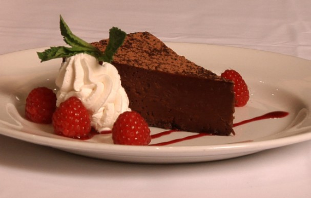 Flourless Espresso Chocolate Cake