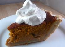 Fluffy Refrigerated Pumpkin Pie