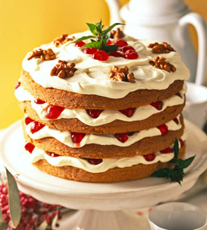 Four-Layer Spice Cake