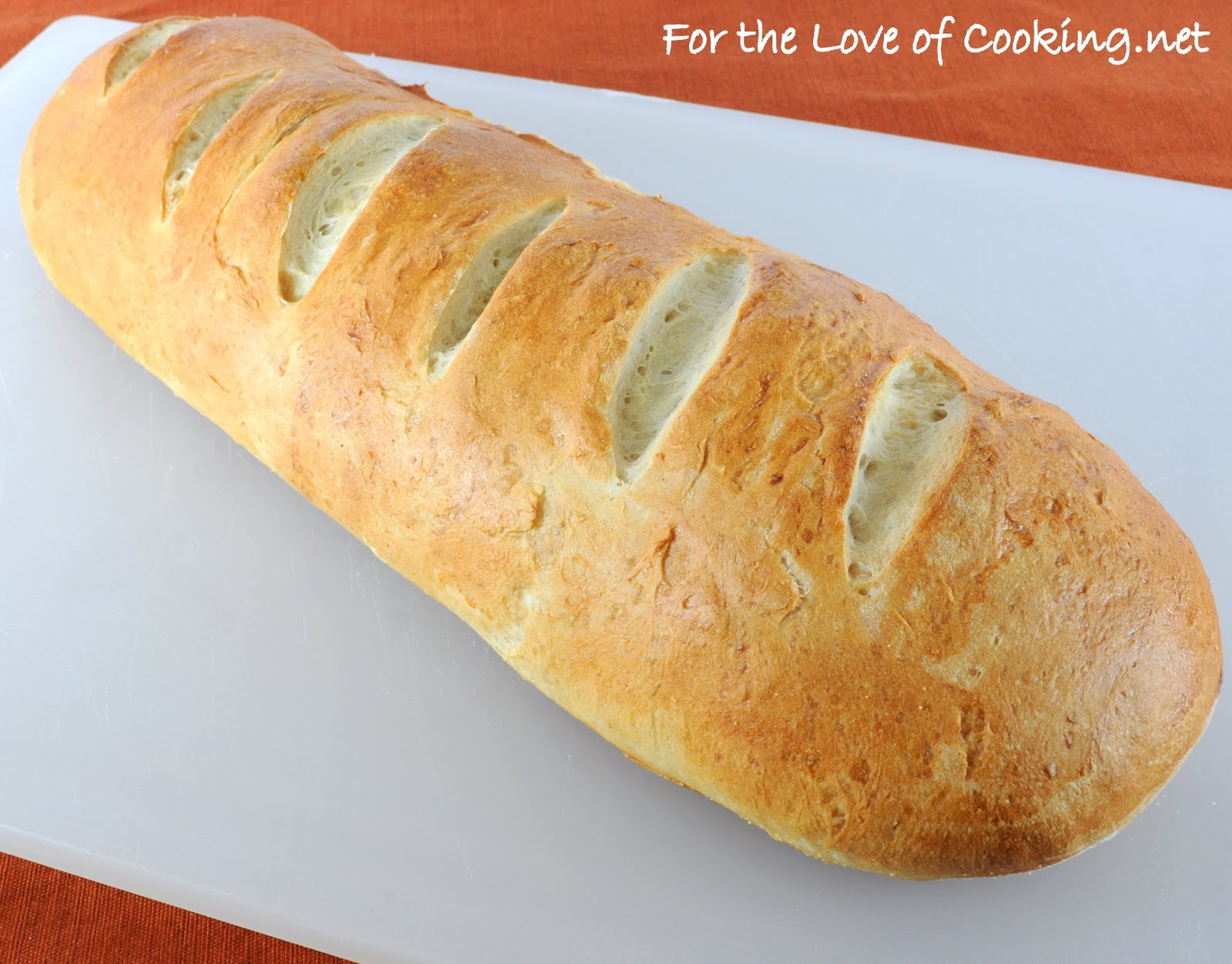 French Bread With Roasted Garlic