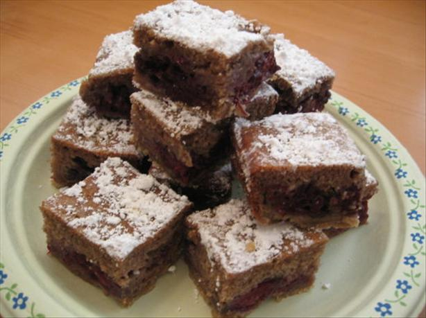 Fresh Blackberry Bars