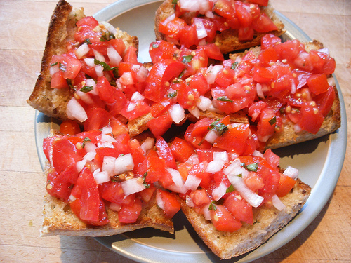 Fresh Bruschetta