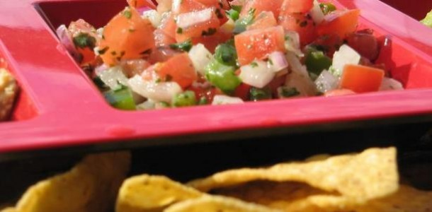 Fresh Mexican Tomato Salsa - Pico De Gallo