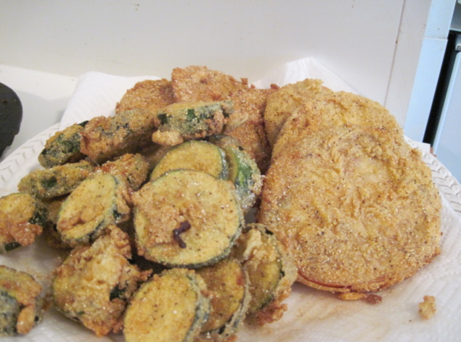 Fried Green Tomatoes, Tennessee Style
