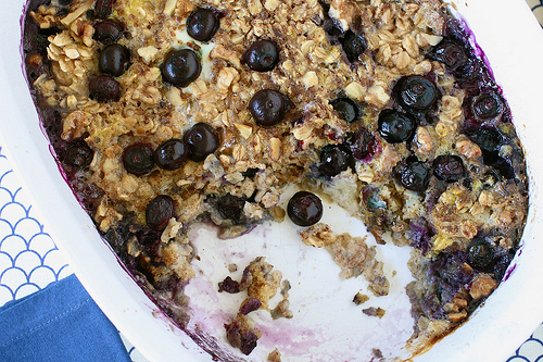 Fruit and Oatmeal Bake