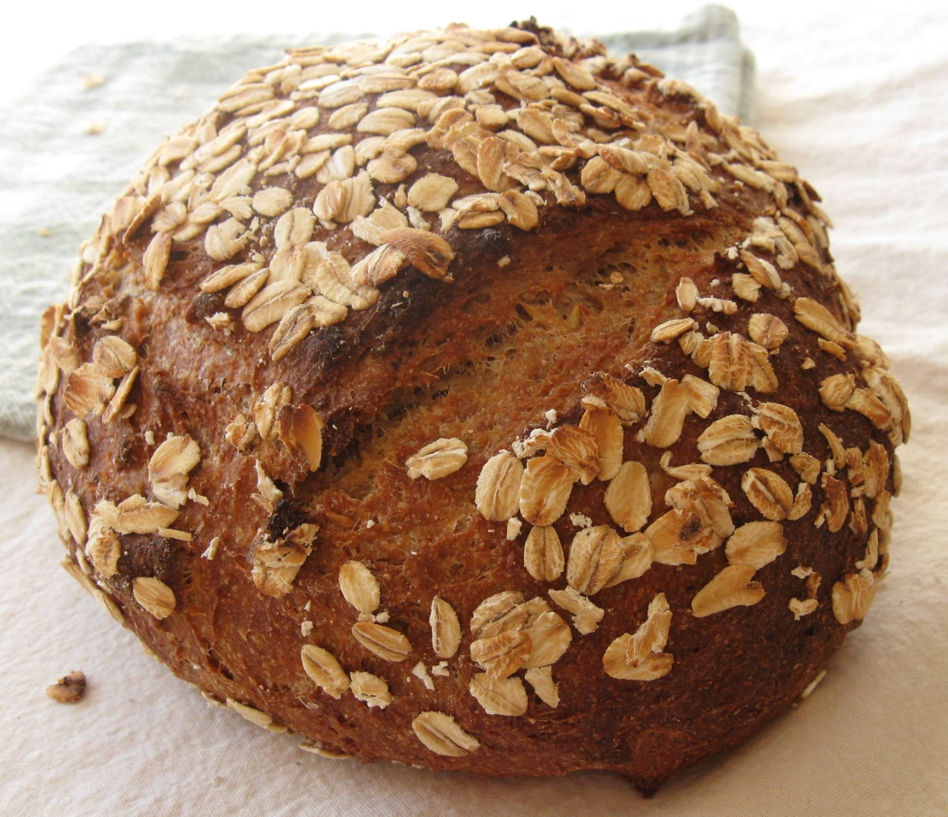 Fruity Whole Wheat Oat Bread