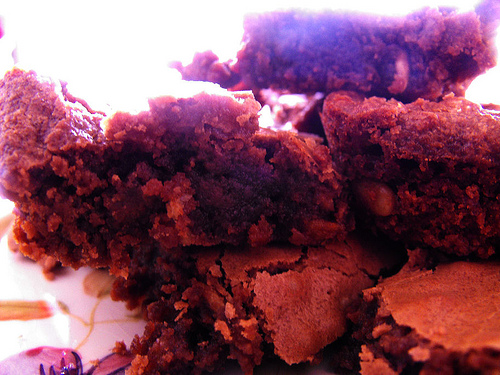 Fudge Brownies (Kitchenaid Mixer)