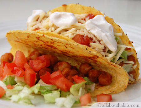 Garbanzo Tacos