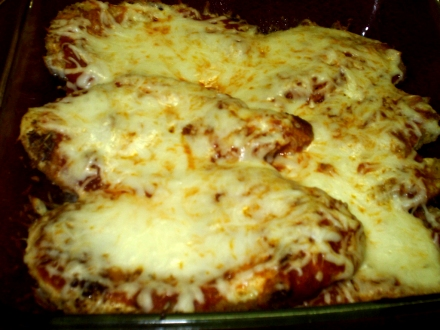 Garlic Chicken Mozzarella
