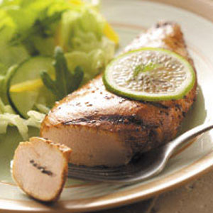 Garlic Lime Chicken Breasts
