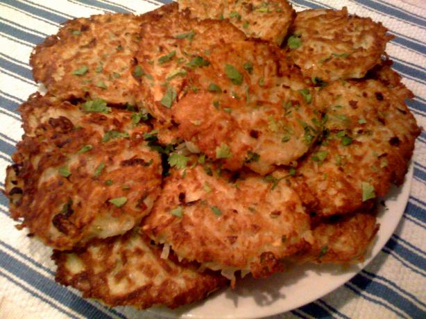 German-Style Crisp Potato Pancakes