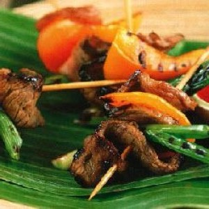 Ginger Beef Steak With Dipping Sauce