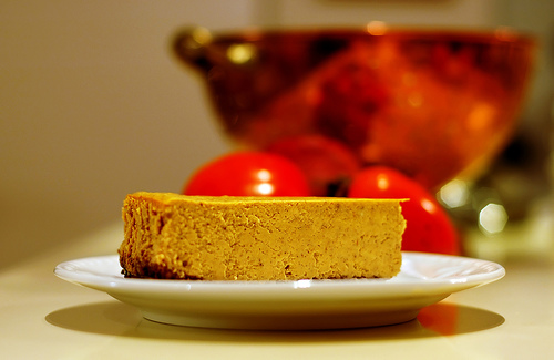 Ginger Spice Cheesecake