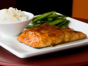 Ginger Teriyaki Salmon