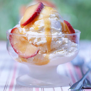 Gingery Apple Sundaes