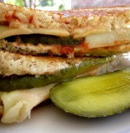 Glorious Grill Cheese and Pickles! How Good is That? Longmeadow