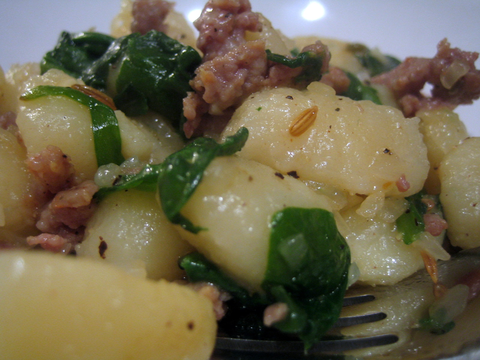 Gnocchi and Sausage Supper