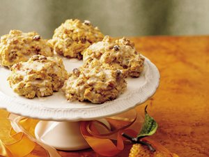 Golden Carrot-Spice Scones