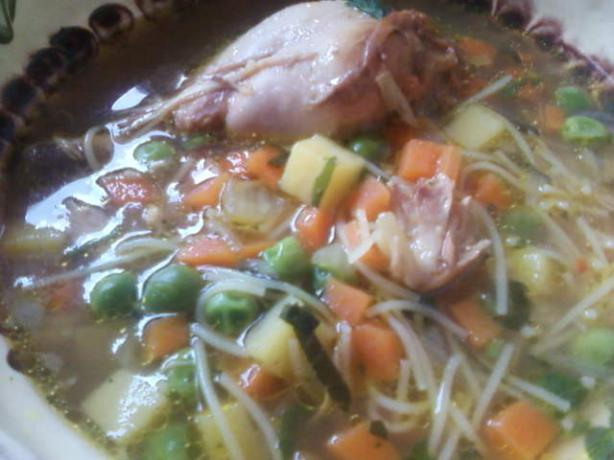 Good Old Fashioned Chicken Soup/Stew