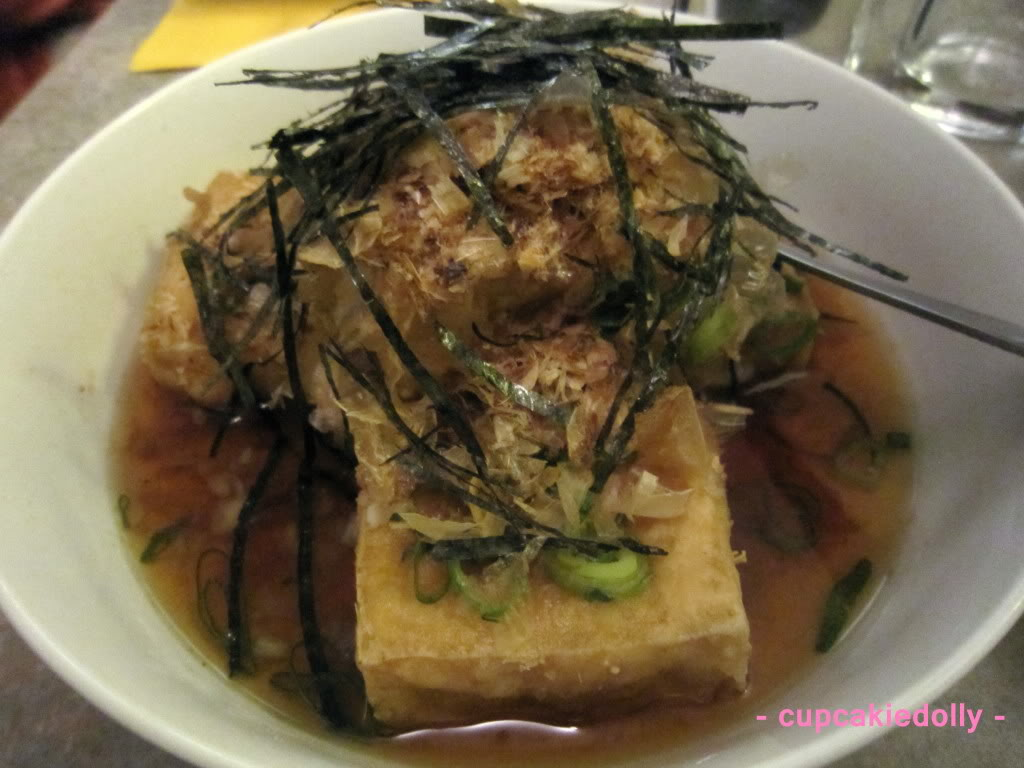 Gooey Fried Tofu