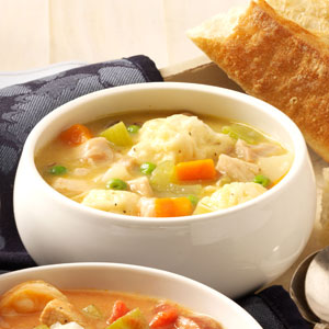 Grandma's Chicken and Dumpling Soup