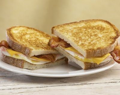 Grilled Breakfast Sandwiches