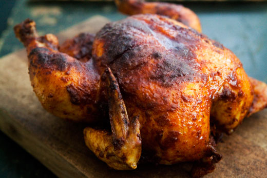 Grilled Chicken 'n' Smoked Paprika Rub