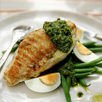 Grilled Chicken Salsa Verde