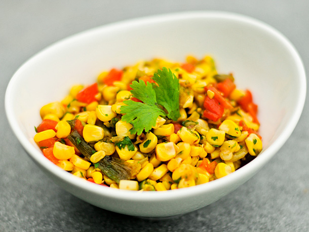 Grilled-Corn Relish