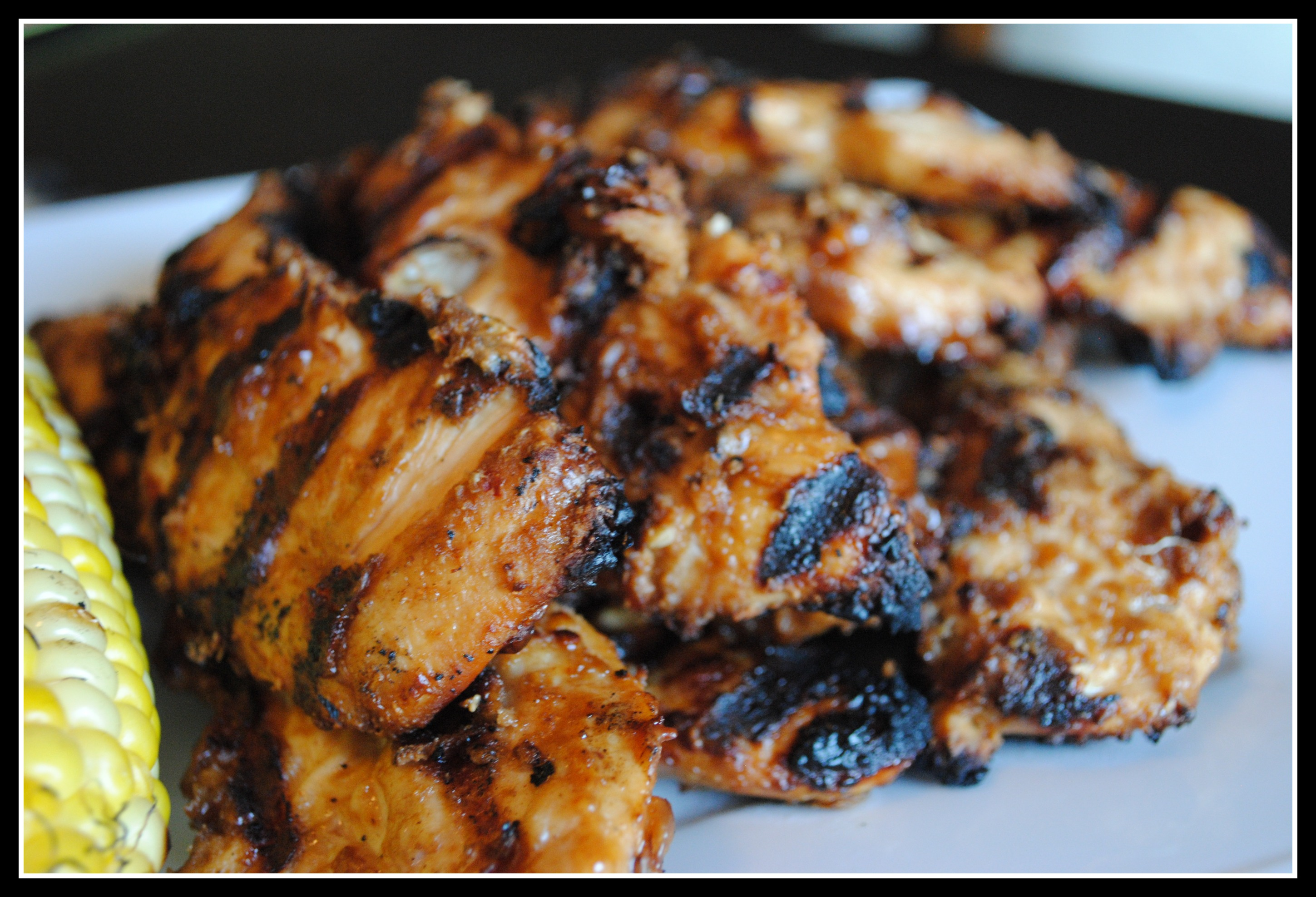 Grilled Peanut Butter Chicken