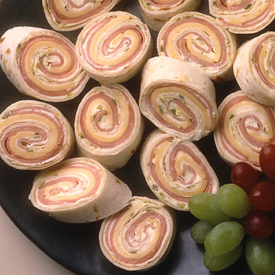 Ham and Cheese Spiral