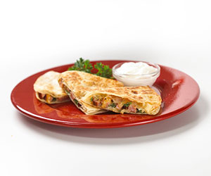Ham and Gouda Quesadillas