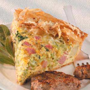 Ham-Cheese Pie
