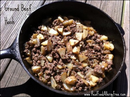 Hamburger and Potato( All In One Meal) Delish!!