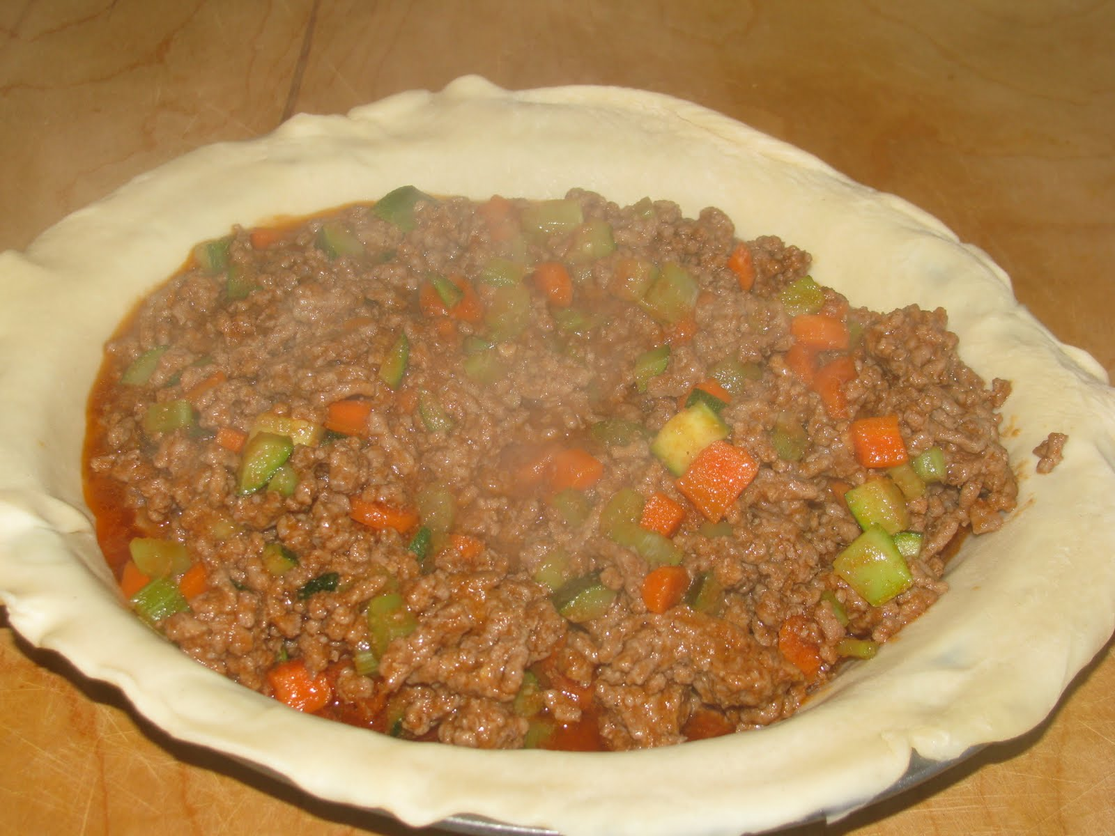 Hamburger Pot Pie