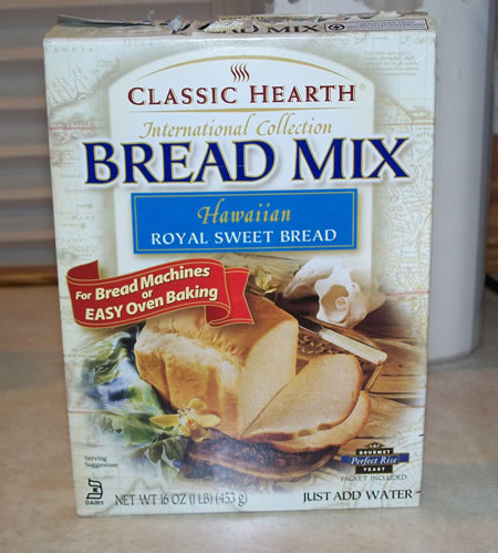 Hawaiian Bread for Bread Machines