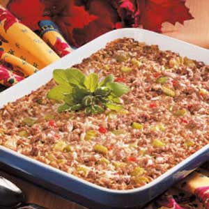 Hearty Rice Dressing