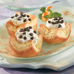 Heavenly Cannoli Cups