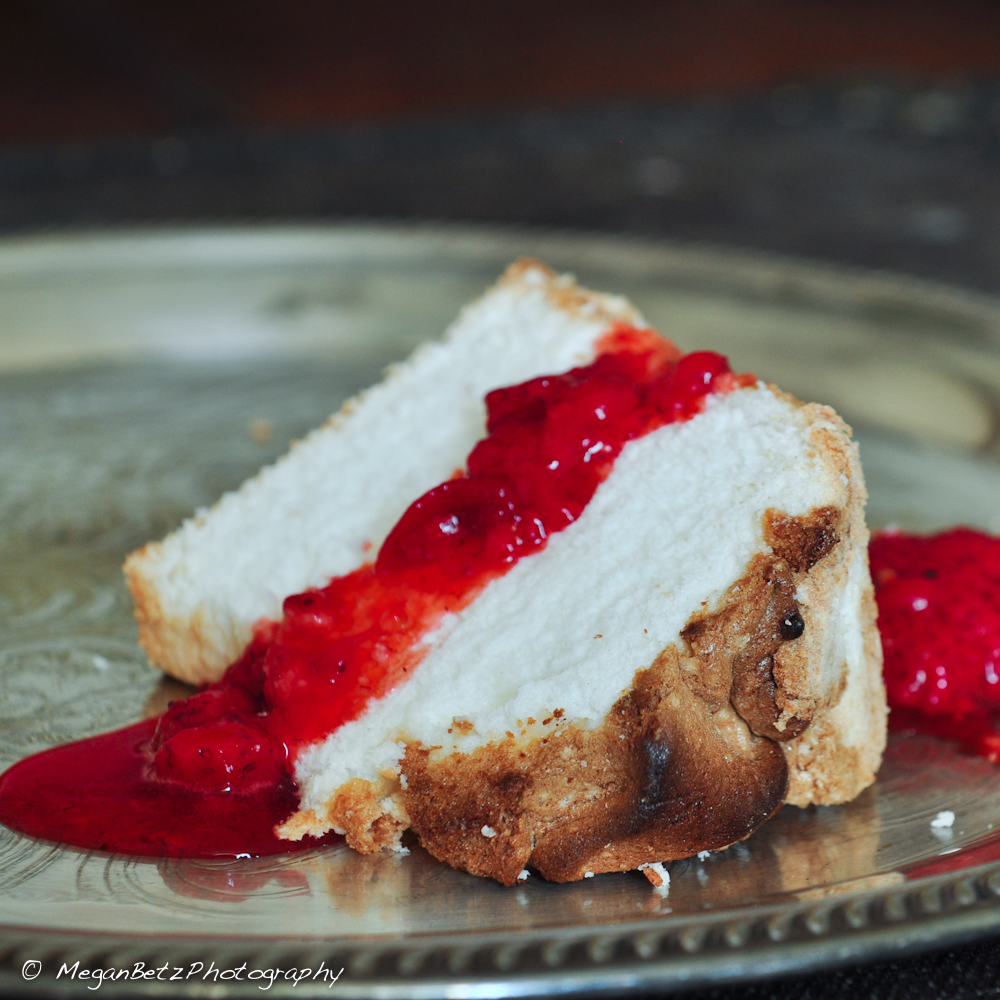 High-Altitude Angel Food Cake