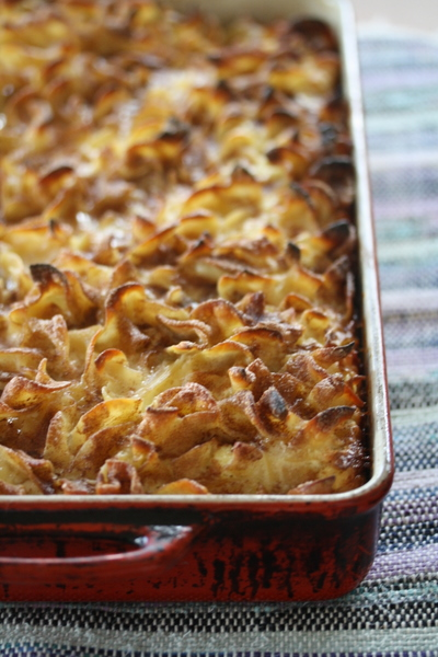 High Holidays Kugel