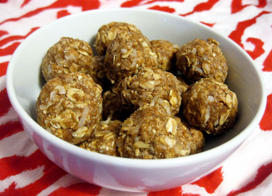 High Protein Peanut Butter Balls