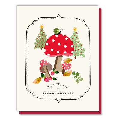 Holiday Mushrooms