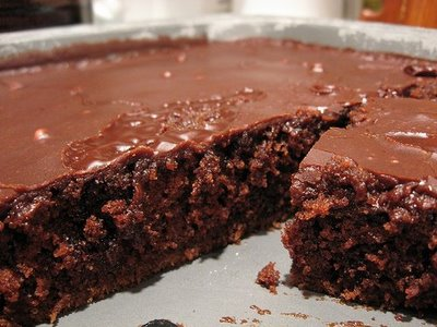 Homemade Chocolate Sheet Cake