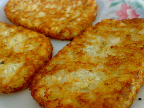 Homemade Hash Browns Potatoes