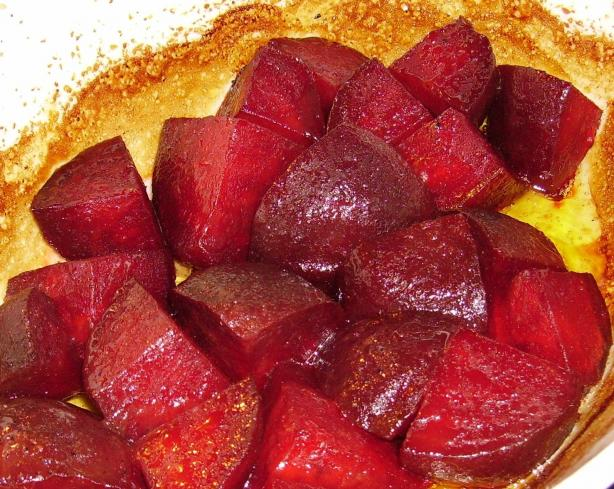 Honey-Ginger Baked Beets