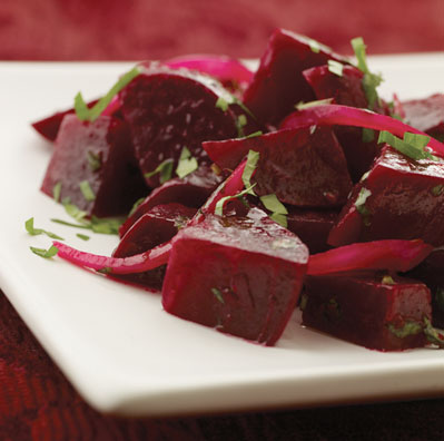 Honey Pepper Beets