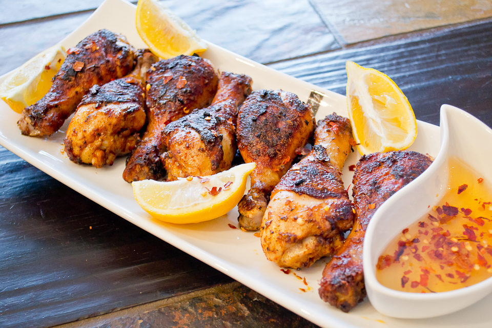 Honey-Spice Drumsticks